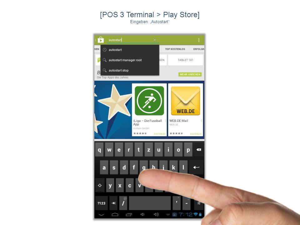 [POS 3 Terminal > Play Store]